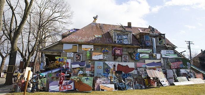 Heidelberg Project, Obstruction of Justice House