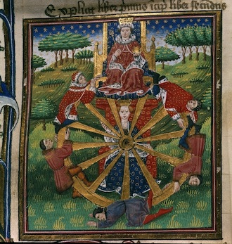 Troy Book - caption: 'Wheel of Fortune'