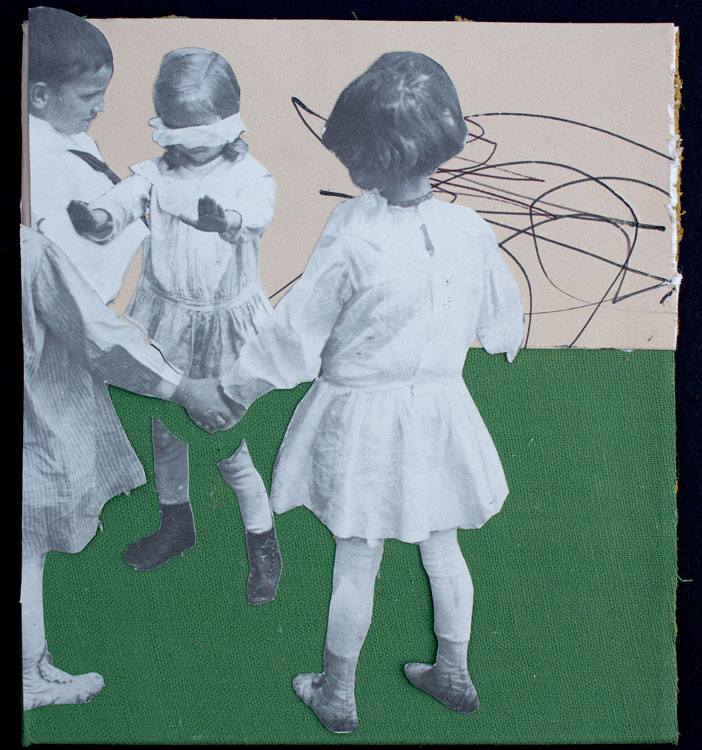 Maddin_Untitled (#06)_2015_collage  and ink on bookcover_5.75x5.25in_72dpi
