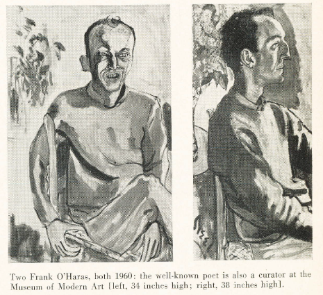 "Berrigan's actual article on Alice Neel, ""The Portrait and Its Double,"" in ARTnews Volume 64, Number 9, January 1966"