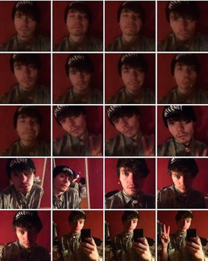 Oscar Bruno selfie