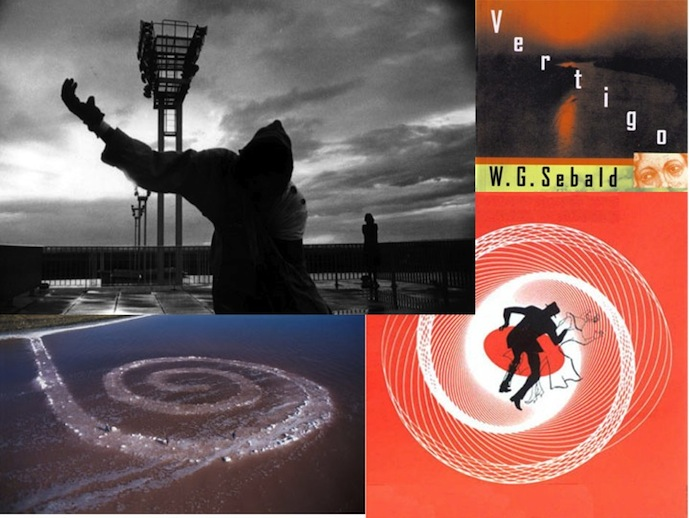 walker spiral collage