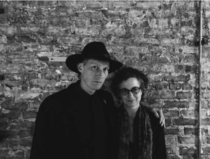 (English with Lauren Berlant in Chicago, courtesy of Lawrence English)